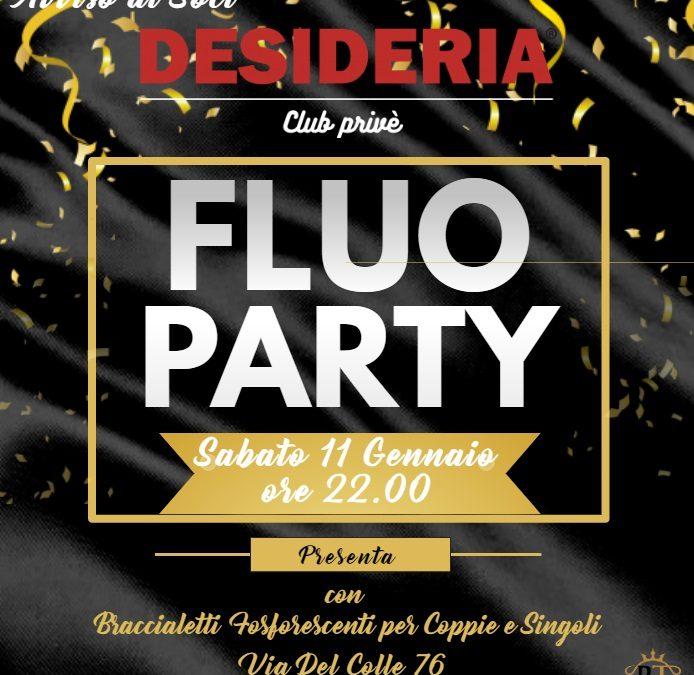 Fluo Party: sabato 11 Gennaio ore 22