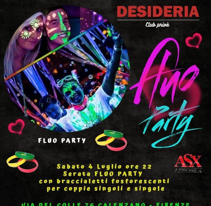 Serata FLUO PARTY sabato 4 Luglio 2020 ore 22